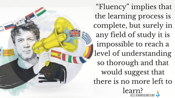 My Own Definition Of Fluency Is Very Simply That Iu0027m Socially Equivalent,  I.e.