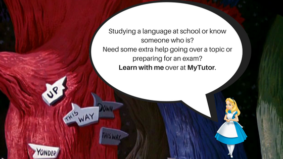 Studying a language at school or know someone who is_ I tutor French, Spanish and English over at MyTutor